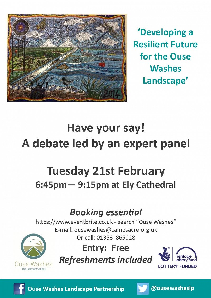 Ouse Washes Open Debate